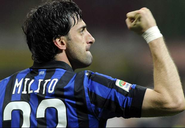 I'd like to play with Lavezzi at Inter, says Milito