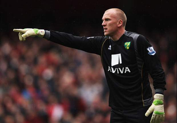 Norwich goalkeeper Ruddy keen on England recall after return from injury