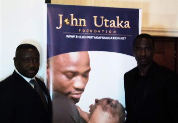 John Utaka launches charity foundation in London
