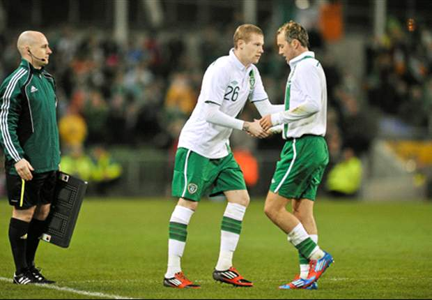James McClean quits Twitter after receiving death threats following call up to Ireland's Euro 2012 squad