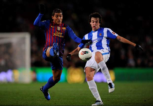 Jonathan dos Santos not thinking of leaving Barcelona for Sevilla, says agent