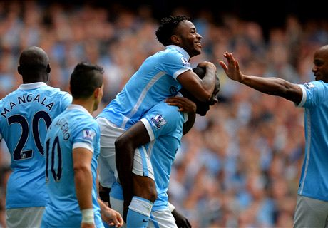 Sterling strikes as City streak continues
