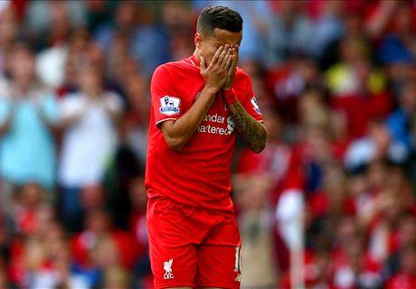LIVE: Liverpool 0-2 West Ham