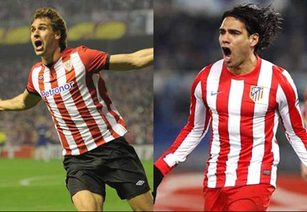 TEAM NEWS: Falcao & Llorente go head to head as Atletico & Athletic name attacking sides for Europa League final