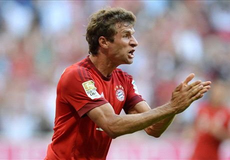Muller double guides Bayern to victory