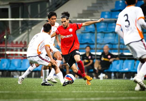 Hougang United 0-2 Young Lions: El-Masri nets a double as Cheetahs slip to sixth defeat on a trot