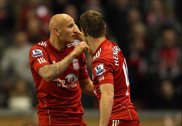 Jonjo Shelvey looking to have an impact in Liverpool's midfield