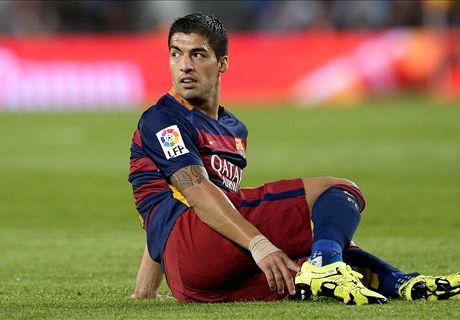 LIVE: Barcelona 0-0 Malaga