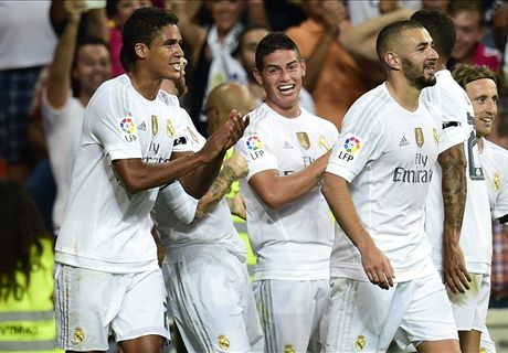 James & Bale star in Madrid rout