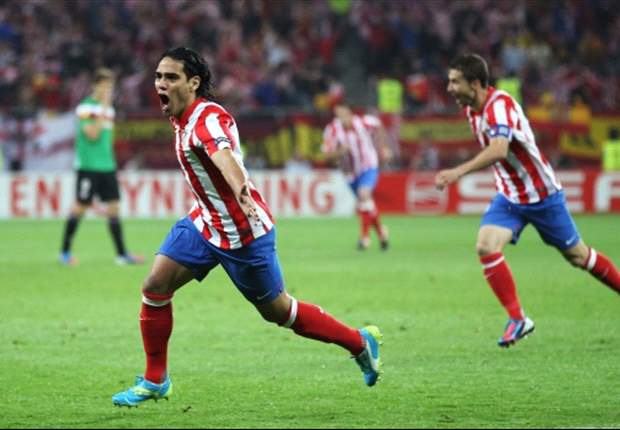 Arda heaps praise on 'outstanding' Falcao after Europa League win