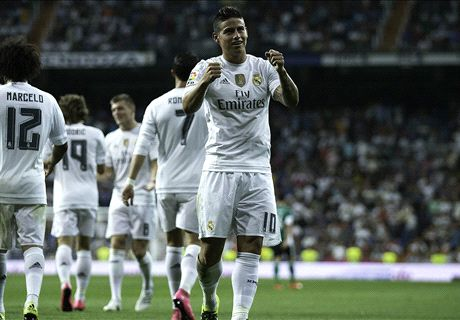 James and Bale prove points for Madrid