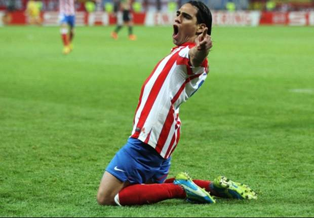 Falcao delighted to be playing for Atletico Madrid in Medellin