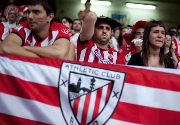 Aficionados del Athletic y del Deportivo se enfrentan en las calles de Bilbao