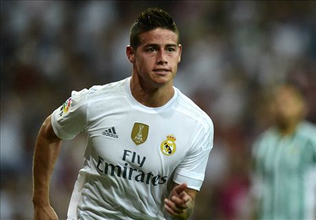 BACK PAGES: James 'fed up' at Madrid