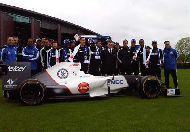 Chelsea se pasa a la Fórmula 1 de la mano de Sauber