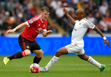 LIVE: Swansea 2-1 Manchester United