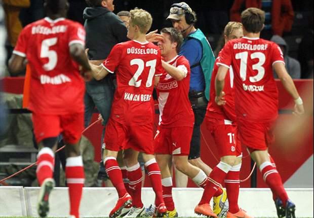 Relegation: Fortuna siegt im Berliner Olympiastadion mit 2:1