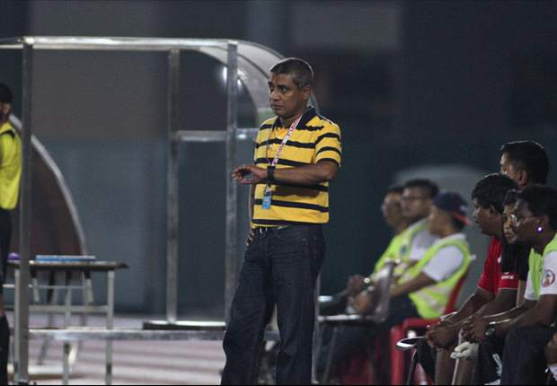 Gombak coach Balagumaran expresses displeasure at referee's decision