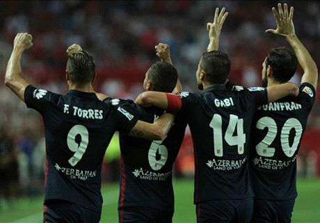 Atletico maintain 100% record