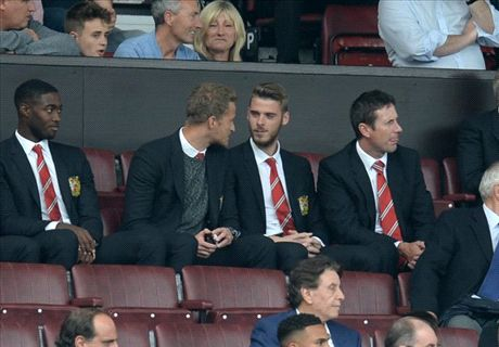 De Gea to Madrid? Wait and see, says LVG