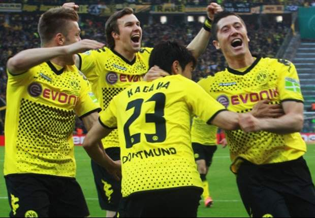 Borussia Dortmund 5-2 Bayern Munich: Lewandowski hat-trick secures domestic double for Jurgen Klopp's men