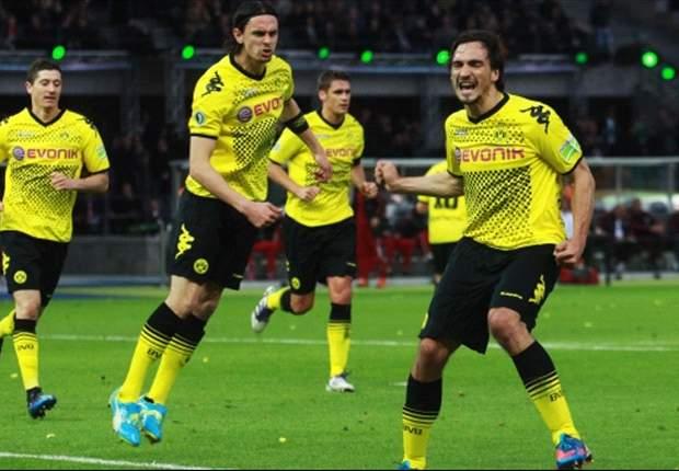 Dortmund vernedert Bayern en pakt dubbel