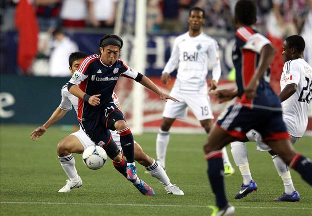 New England Revolution 4-1 Vancouver Whitecaps: Revs come from behind for the Nguyen