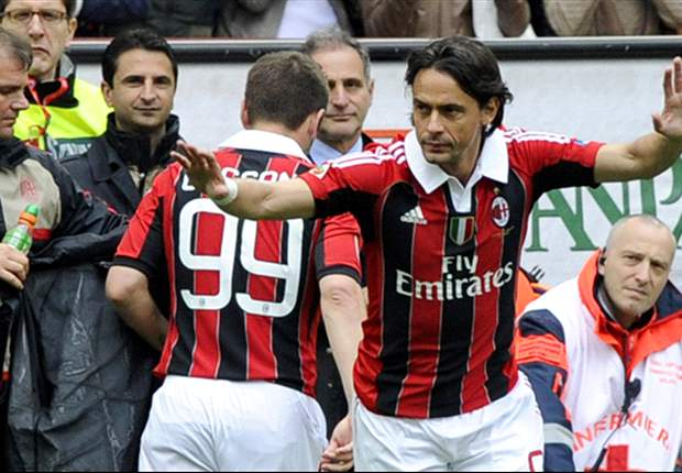 AC Milan 2-1 Novara: Inzaghi bids goodbye to Rossoneri with emotional winning goal as hosts end season with victory