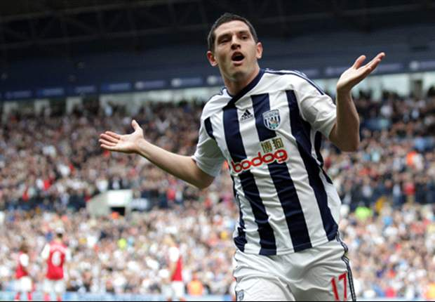 Dorrans happy to remain at West Brom, says manager Clarke