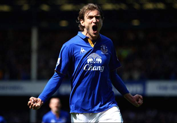 Hamburg reveal interest in Everton striker Jelavic