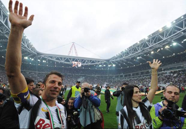 'You've made my dream come true' - Del Piero sends emotional thank you to Juventus fans