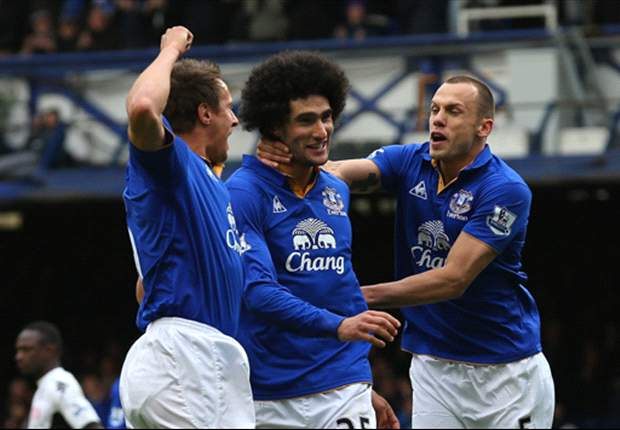 Everton 2-1 Sunderland: Fellaini & Jelavic complete comeback to keep Toffees in top four