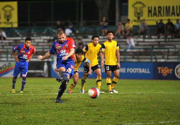 Harimau Muda 2-3 Tampines: Young Tigers lose unbeaten home record to experienced Stags
