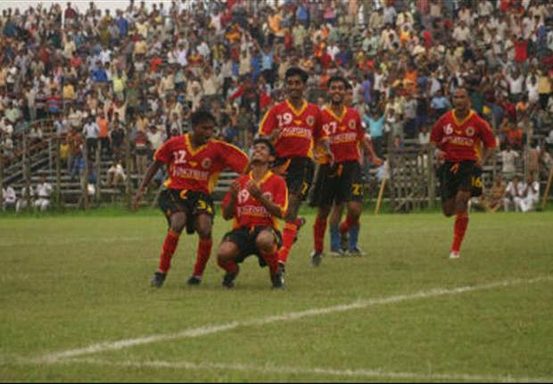 I-League: EB Overpower Sporting Clube