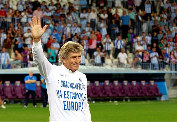 Roma make approach for Malaga's Pellegrini