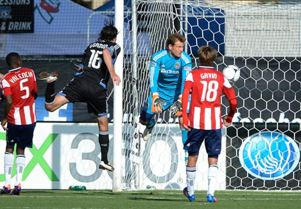 San Jose Earthquakes 1-1 Chivas USA: Late Gordon header saves point for Quakes