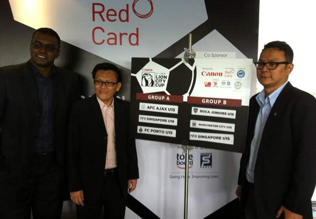 2012 Canon Lion City Cup draw - Ajax Amsterdam and Singapore U-16 to kick-off competition