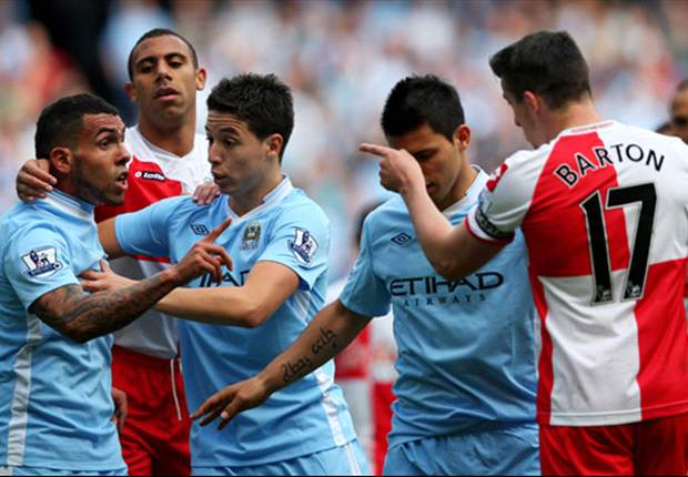 QPR start internal investigation into Joey Barton incident against Manchester City