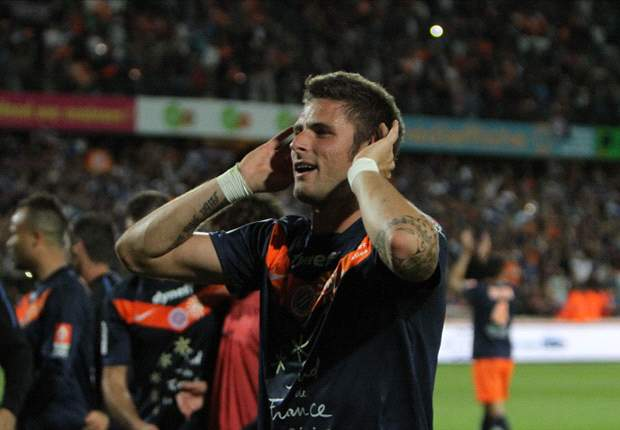 Montpellier confirm Arsenal-bound Giroud's exit