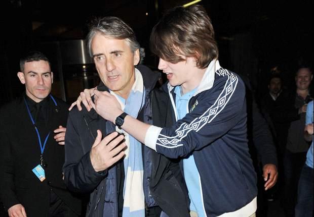 Roberto Mancini verá a su hijo jugar en el Valladolid