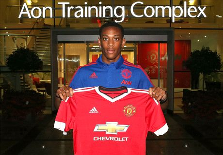 Where Will Martial Fit At United?