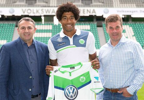 Dante chega ao Wolfsburg