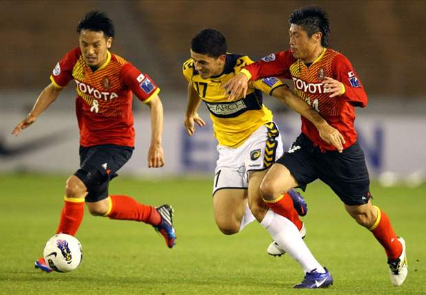 Nagoya Grampus 3-0 Central Coast: Japanese first-half show sinks Mariners