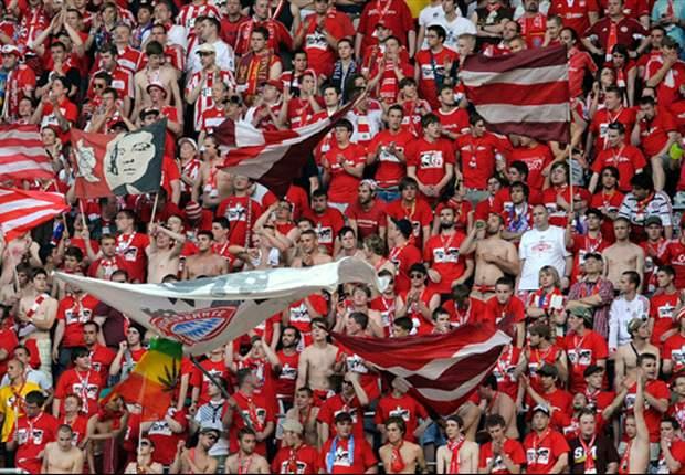 Bayern-Fans sorgen für Aufsehen
