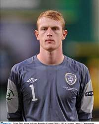 Aaron McCarey, Ireland International
