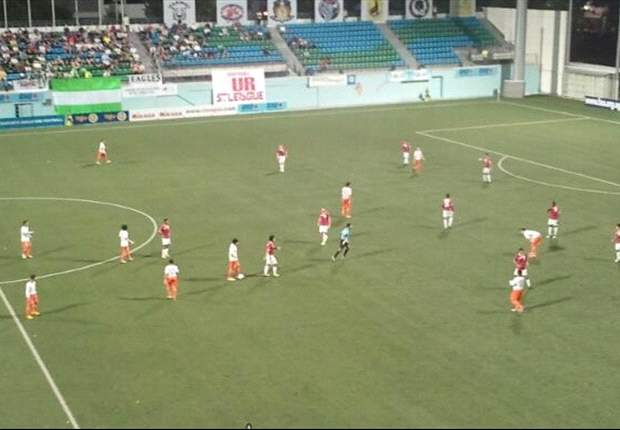 Loyola Meralco Sparks 2-1 Geylang United (aet): Sparks the first foreign team to progress to the next round