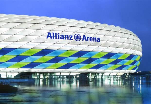 Bayern Munich host Arsenal at the Allianz Arena