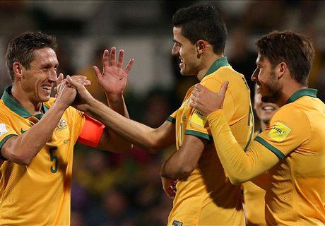Socceroos romp to big win