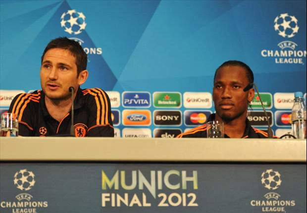 Lampard: Drogba will leave a massive hole in the Chelsea team
