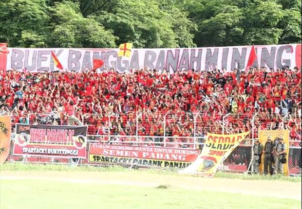 Dukungan penuh fans akan memotivasi pemain Semen Padang memetik kemenangan di leg kedua